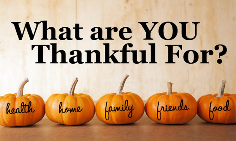 Have a Wonderful Thanksgiving Weekend
