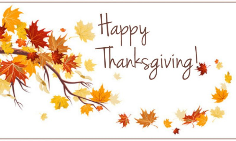Have a Wonderful Thanksgiving Holiday