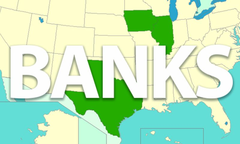 Texas, Iowa and Illinois – Home to Most Recommended Banks in the Nation