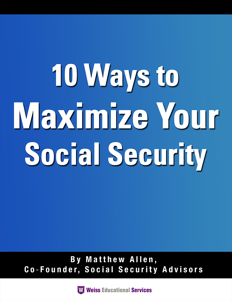 10 Ways to Maximizing Your Social Security