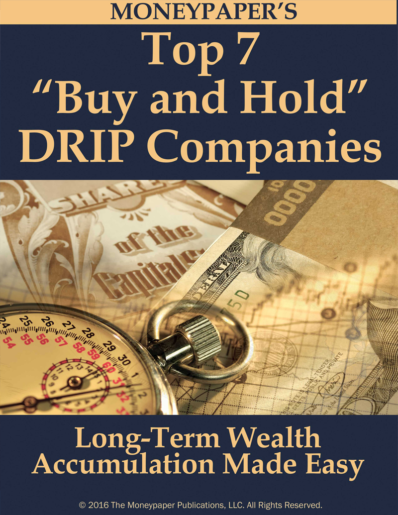 Top 7 Buy and Hold DRIP Companies